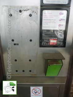 Used green BT Phonecard bin in telephone kiosk - Peterborough train station - July Peterborough, Kiosk, Train Station, Telephone, Locker Storage, Initials, The Past, Presents, Green
