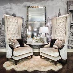 Luxury Design   Sitting Area   Charles Neal Interiors   Fox Home Design