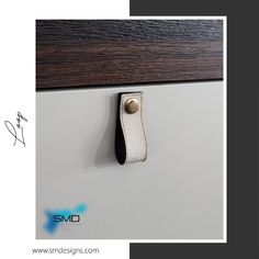 Loop  Let your furniture feel the style.  #handlesandmuchmore #SMD #handles #knobs #furniture #leather #real #artificial #style #casual #living