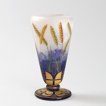 Art Nouveau Glass Vase by Daum