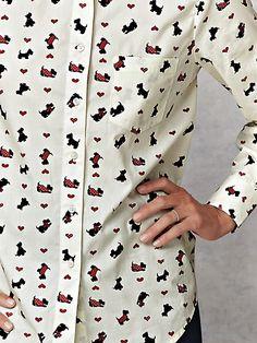 Wrinkle-Resistant Shirt, shirt, blouse, wrinkle resistant blouse