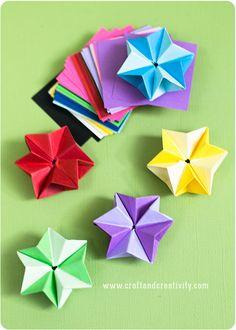 DIY Paper stars - by Craft & Creativity