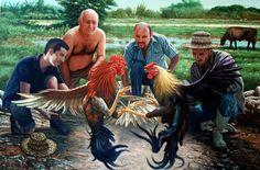 El Museo de Alberto: Pelea de gallos