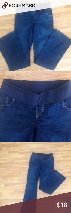 Old Navy Maternity Jeans Low Panel Size 8 Long | Old navy jeans ...