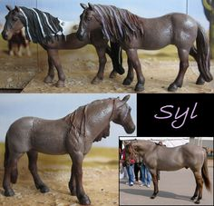 repaint and cust of schleich Bayala model Iloris