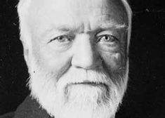 """At the height of his power, Carnegie worked with """"Think and Grow Rich"""" author Napoleon Hill to outline the principles of his success. The Gospel Of Wealth, Andrew Carnegie, Richest In The World, Think And Grow Rich, Be The Boss, Napoleon Hill, Great Leaders, Rich Man, Art"""