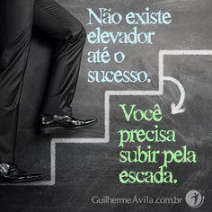 Pare de procurar um elevador e encare as escadas!