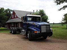 Semi truck like brand new again!