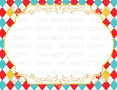 This listing is for Do-It-Yourself Printable BLANK Circus Sign. You will be able to download the 8.5x11 pdf file immediately after checkout. Add your text after printing blank label or import the jpeg document into your word processing program to add text digitally before printing. (word processing programs have different procedures for doing this. No assistance can be offered on how to do this for your particular program - however, an internet search may provide you with a step by step…