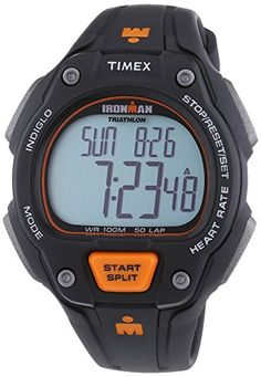 Women's Wrist Watches - GENUINE TIMEX Watch HRM ROAD TRAINER Unisex Digital  T5K720 *** Check out this great product.