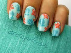 Seashell & Starfish #Nails