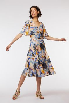 Shop current season and sale clothing by gorman Tulip Dress, Kimono Dress, Smock Dress, Gorman Clothing, Cocktail Length Dress, Burnt Orange Dress, Stylish Tops, Spring Looks