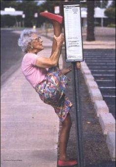 Agile granny