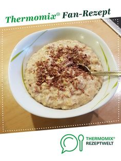 Ein Thermomix ® Rezept aus… Energy-supplying breakfast porridge from avelh. A Thermomix ® recipe from the Basic Recipes category www.de, the Thermomix ® community. Vegan Breakfast Recipes, Brunch Recipes, Keto Recipes, Dessert Recipes, Ketogenic Recipes, Breakfast Porridge, Breakfast Toast, Porridge Recipes, Thermomix Desserts