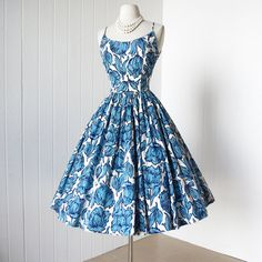 vintage 1950's dress ...gorgeous JERRY GILDEN new york by traven7 $210.00