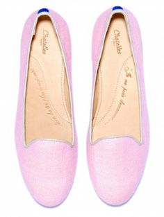 Marcel  Rose macaron pink canvas    Inner and outer sole made of natural leather