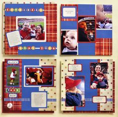 Scrapbook layouts  #CloseToMyHeart #Studio J