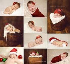 Christmas baby photo ideas | Baby