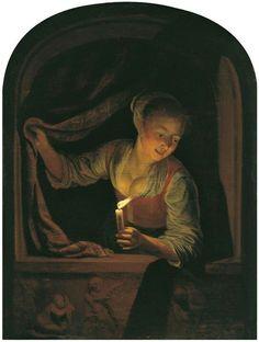 Gerrit Dou.(1658-1665)