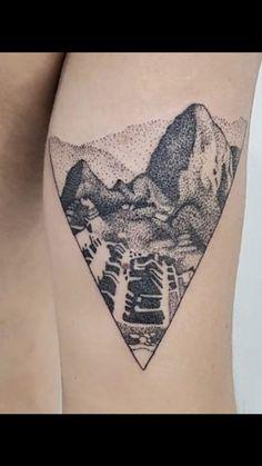 Peru Tattoo, Inca Tattoo, Inca Empire, Machu Picchu, Some Ideas, Tatting, Body Art, Ink, Tattoo Ideas