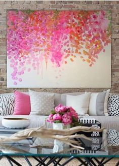 8 Spectacular Home Decoration Ideas Wall Amazing Tips.Kardashian Home Interior Easy Paintings, Abstract Paintings, Acrylic Art, Diy Abstract Art, Diy Painting, Watercolor Painting, Painting Inspiration, Home Art, Art Projects