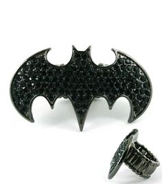 Crystal Batman Ring--obsessed!!