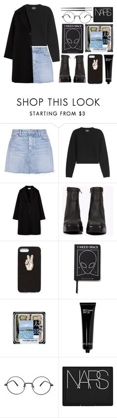 """Mood"" by antisocial-vagabond ❤ liked on Polyvore featuring GRLFRND, Anthony Vaccarello, Jeffrey Campbell, Nasty Gal, Killstar, Bobbi Brown Cosmetics, NARS Cosmetics and Christofle"