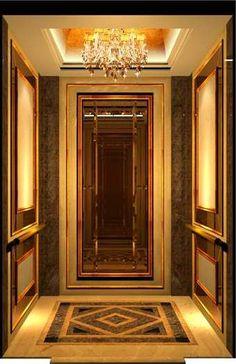 Stair Elevator, Elevator Design, Elevator Lobby, Lift Design, Cabin Design, Classic Interior, Luxury Interior, Floor Design, Ceiling Design