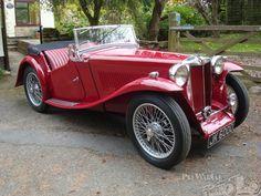 MG TA 2 Seater 1936.