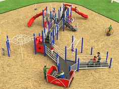 Burke is expanding its inclusive play selection with the ALL NEW Cruiser multi-user rocker! With enough room for two wheelchairs and two full benches, the Cruiser allows up to 12 children of all abilities to play together. Handles at both ends allow adults or other children to assist with motion and enjoy the experience. Available as a freestanding event or as part of a structure, the Cruiser provides an inclusive play option for ages 2-12.