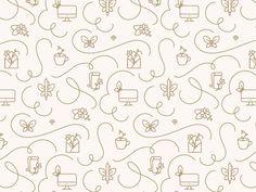 Fancy & Feminine by Melissa Yeager #Design Popular #Dribbble #shots