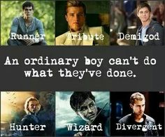 Yes, an ordinary boy can, cause... oh wait never mind. Ordinary boys don't read