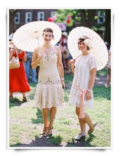 """Kick Up Your Heels at this Style Jazz Age Lawn Party is part of lawn Party Wedding - New YorkHey Gatsby Gals and Guys, stop obsessively watching """"The Great Gatsby"""" trailer over and over again and head to a real live vintage Jazz Age Lawn Great Gatsby Party Outfit, Great Gatsby Themed Party, Great Gatsby Wedding, 1920s Wedding, Wedding Ideas, Gatsby Outfit, Flapper Wedding, Flapper Party, Wedding Inspiration"""