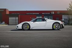 #Porsche 918 Spyder PUR RS23.M2 #Wheels.  #cars #sportscars #hybrid #supercars #exotics #design  More from PUR Wheels >> http://www.motoringexposure.com/featured-fitment/pur-wheels/