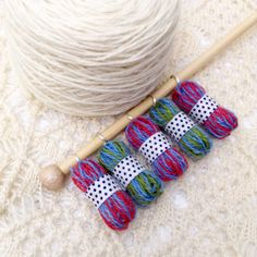 micro yarn stitch markers