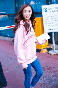 APRIL - Jinsol April 3, Kpop, Drawing Reference, Coat, Asia, Jackets, Design, Women, Fashion