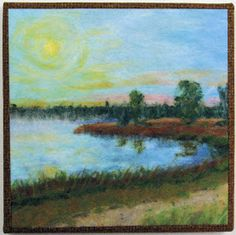 Machine Needle Felting and Mixed Media Quilting: Finishing Techniques for Felted Paintings