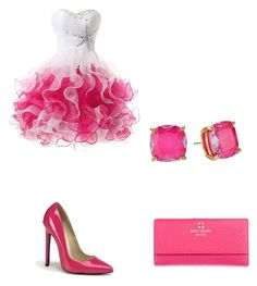 """""""Prom night"""" by princesstahje ❤ liked on Polyvore featuring Kate Spade"""