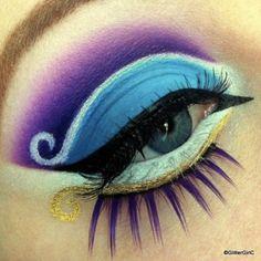 Aladdin inspirierte Make-up - Makeup Products Fenty Disney Eye Makeup, Disney Inspired Makeup, Eye Makeup Art, Eye Art, Skull Makeup, Crazy Makeup, Love Makeup, Makeup Looks, Yeux Halloween
