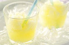 Lemonade Slushie recipe...  you could substitute ANY flavor Kool-Aid to make these simple slushies!!