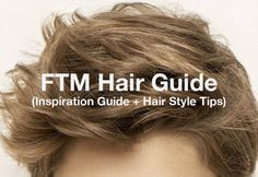 Point shares FTM hair style and maintenance tips plus an inspiration guide t. - Point shares FTM hair style and maintenance tips plus an inspiration guide to help you- Transgender Ftm, Transgender Haircuts, Ftm Haircuts, Round Face Haircuts, Trans Boys, Transitioning Hairstyles, Genderqueer, My Hairstyle, Hairstyle Ideas