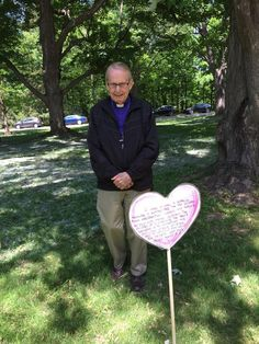 Archbishop Terry Finlay in the Heart Garden at Rideau Hall in Ottawa on June 3, 2015.