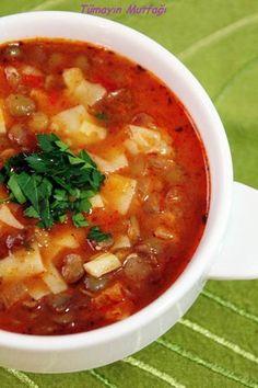 Food and drink soups Iftar, Food N, Good Food, Food And Drink, Yummy Food, Turkish Recipes, Ethnic Recipes, Turkish Kitchen, Greek Cooking