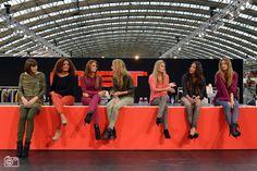 Fashionable bijkletsen op tijdens Modefabriek 2013