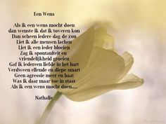 Gedichtjes Spreuken