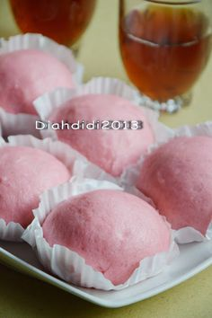 Donuts, Donut Muffins, Diah Didi Kitchen, Donut Bun, Japanese Cheesecake, Asian Recipes, Icing, Food And Drink, Cooking Recipes