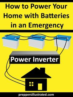 How You Can Provide Electricity to Your Home with Batteries by Using a Power Inverter --Article written by Patty Hahne on March 4, 2015