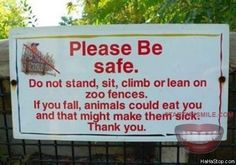 o.O....  Dont Make The Animals Sick