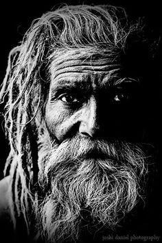 Joshi Daniel, Naga Sadhu, Black & White Portrait