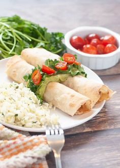 Crispy baked taquitos with the most flavorful chicken Baked Taquitos, Chicken Taquitos, Chicken Flavors, Chicken Recipes, Gluten Free Chicken, Gluten Free Baking, Healthy Salad Recipes, Dairy Free Recipes, Food Allergies